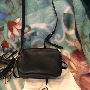 Gucci Bags - Gucci disco bag small black pebble leather
